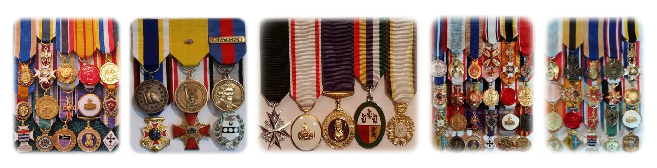 Hereditary Society Medal Set Samples