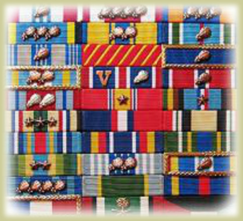 Air Force Ribbon Set Sample